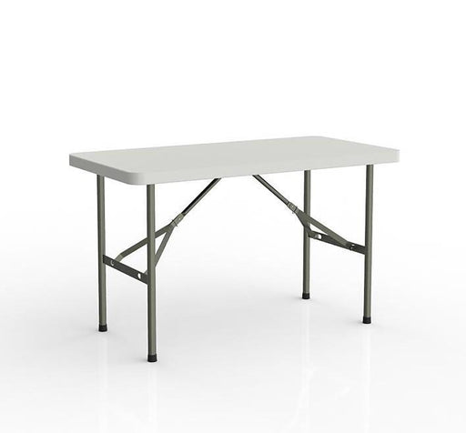 Knight Folding Table with 1 Piece Solid Top 1200mm x 770mm
