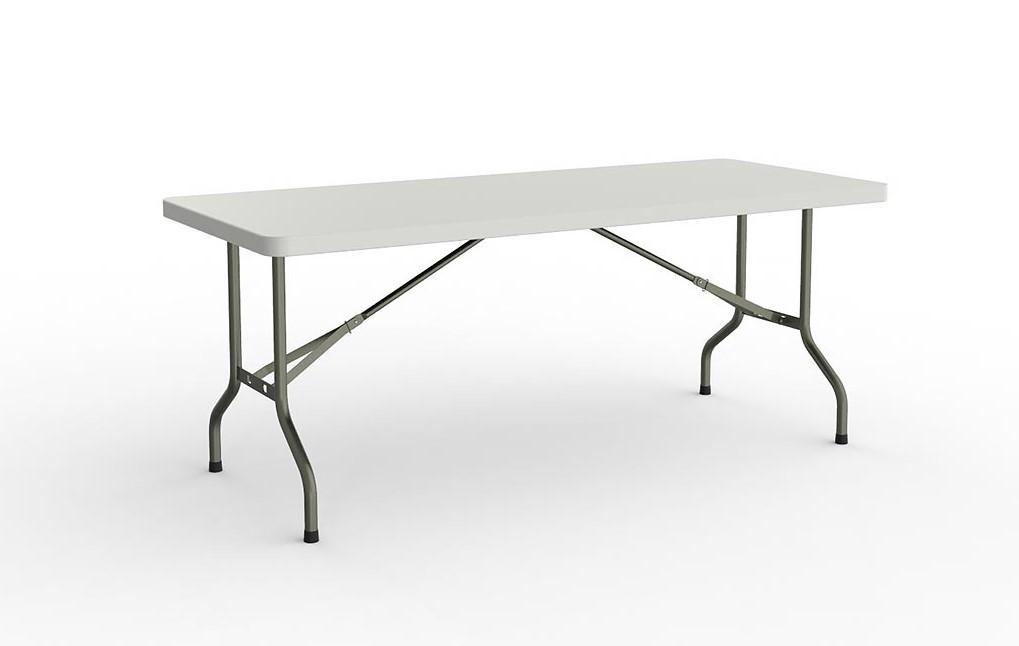 Folding Table With 1 Piece Solid Top 1800mm X 770mm
