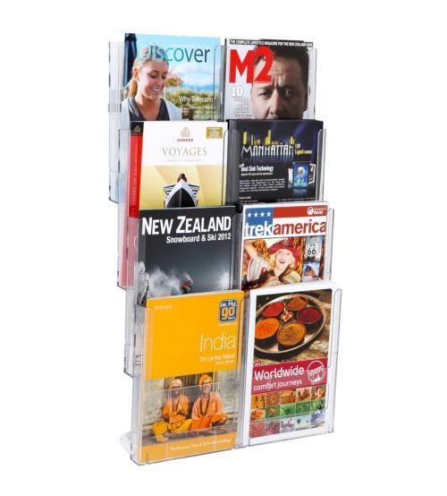 Larstons A4 Wall Mount Brochure Holder 8 x A4