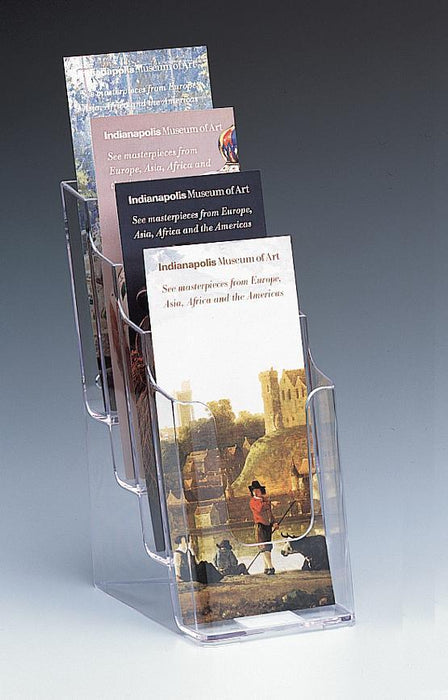 Larstons DL Brochure Holder 4 Tier