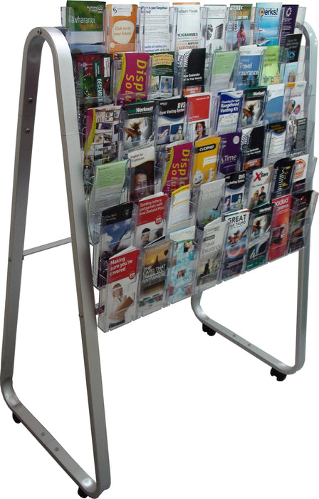 Larstons Easel Floor Stand & DL Brochure Holder x 48 DL