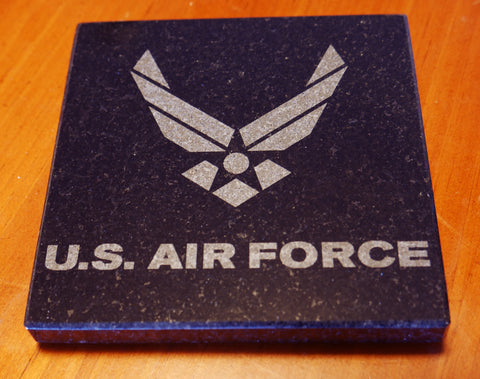 Granite Air Force logo Coaster