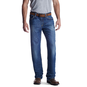 Ariat FR M4 Low Rise Ridgeline Boot Cut Jeans - Glacier