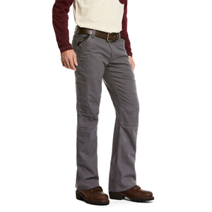 Ariat FR M5 Slim Stretch DuraLight Canvas Stackable Straight Leg Pant