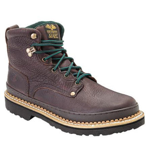 "Georgia Giant Steel Toe 6"" Lace Up Work Boot G6374"