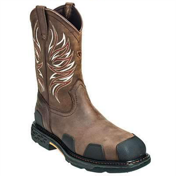 Ariat Over Drive Wide Pull-On Work Boots
