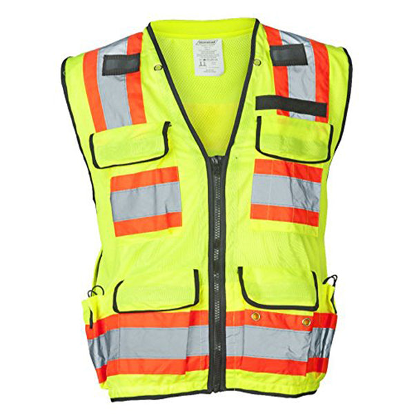Iron Wear Flame Retardant Lime/Yellow Surveyor Vest