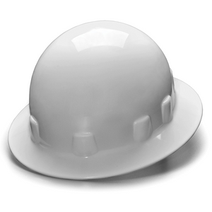 Pyramex Sleek Shell Full Brim 4 Point Ratchet Suspension Hard Hat
