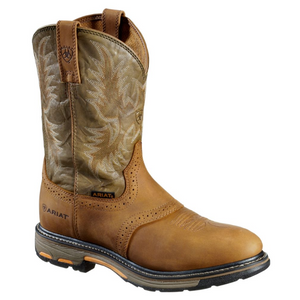 Ariat Workhog Non Steel Toe Pull On Work Boots