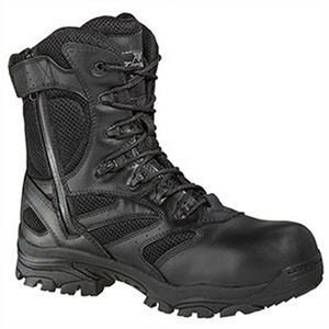 "Thorogood Uniform 8"" Lace Up Side Zip Composite Toe Boots"