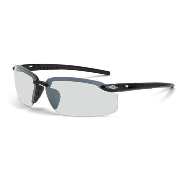 Crossfire ES5 Black Frame Indoor/Outdoor Mirror Lens Safety Glasses
