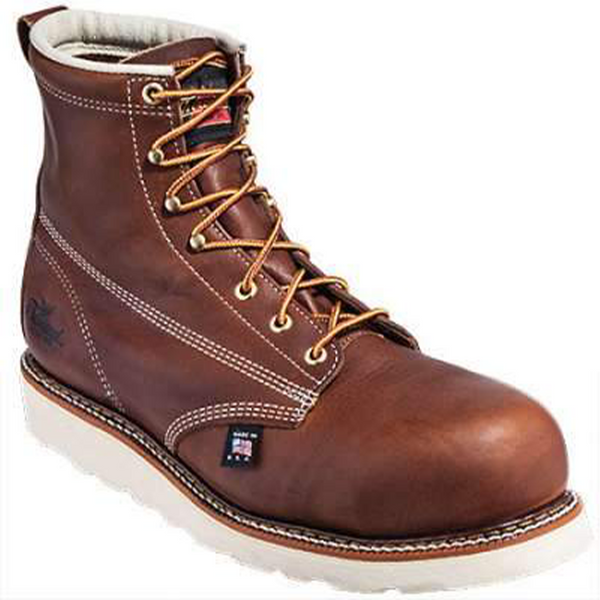 "Thorogood American Heritage 6"" Emperor Toe Safety Toe Boots"