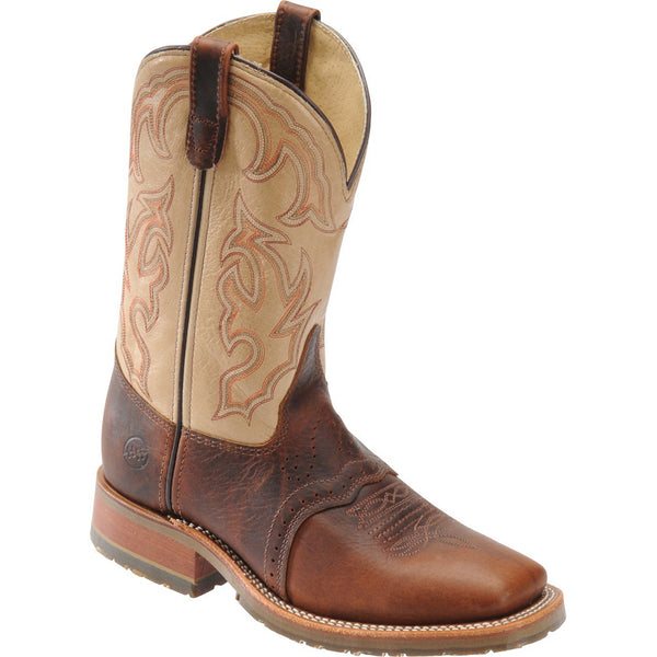 Double H Graham Steel Wide Square Toe Roper Boots