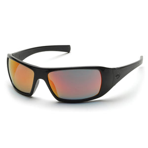 Pyramex Goliath Black Frame Safety Glasses