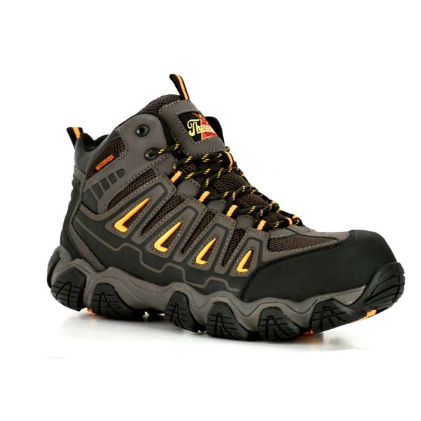 Men's Thorogood Composite Toe Waterproof Brown Crosstrex Mid Hiker Boots