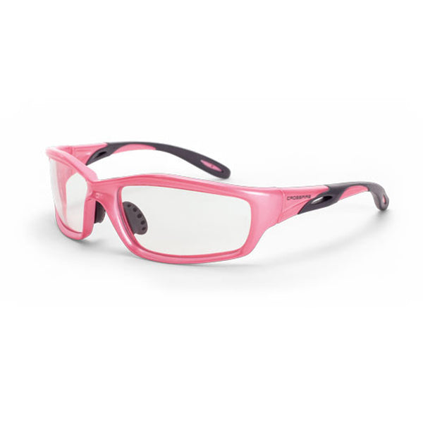Crossfire Infinity Pink Frame Safety Glasses