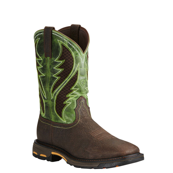 Ariat Workhog Wide Square Composite Toe VentTEK Pullon 10020084