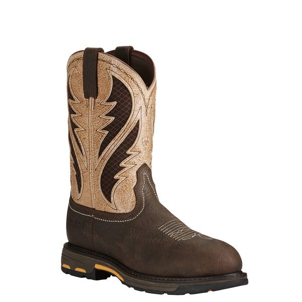 Ariat Workhog VentTEK 11 Inch Composite Toe Roper Pullon 10020091