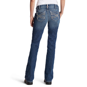 Ariat Women's FR Mid Rise Boot Cut Jeans