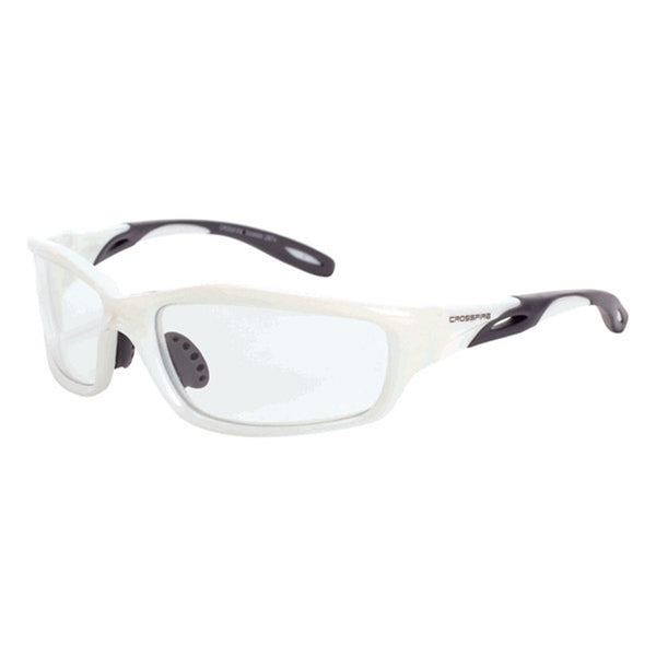 Crossfire Infinity White Frame Safety Glasses