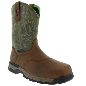 Ariat Men's Rebar H2O Safety Boots  Pullon 10021486