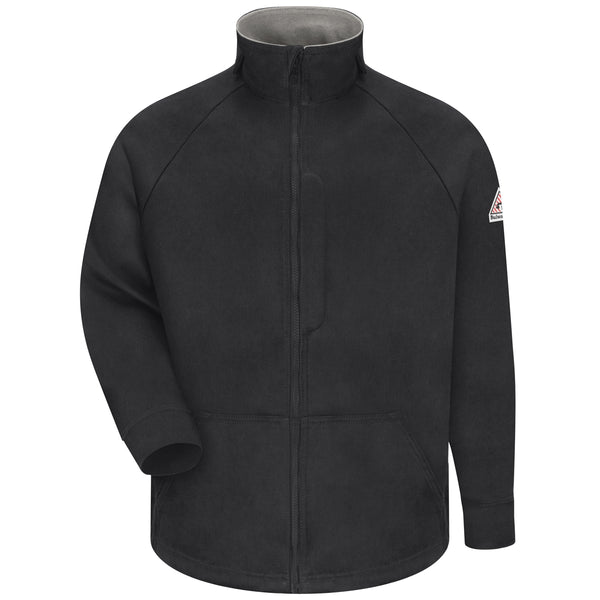 Bulwark FR JLF6 Men's FR 3 Jacket - Power Shield FR - 6.0 oz. - Black