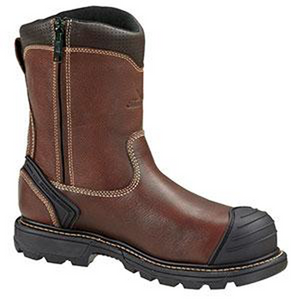 "Thorogood Gen-Flex 8"" Plain Toe Side-Zip Composite Toe Boots"