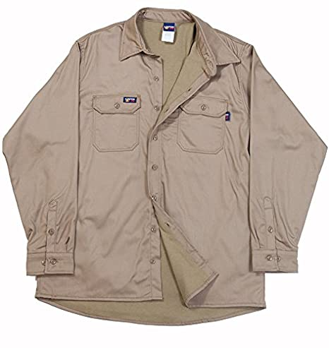 LAPCO SIKH7 FR INSULATED BUTTON SHIRT KHAKI