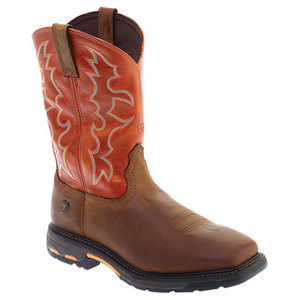 Ariat Men's Workhog Wide Square Toe Boots