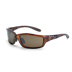 Crossfire Infinity HD Brown Flash Mirror Lens Safety Glasses