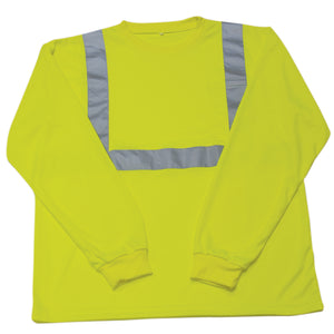 Iron Wear Hi-visibility Waffle Shirt Long Sleeve With Striping Style 12042-L-TP