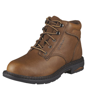 "Ariat Womens Brown Macey Composite Toe 6"" Lace Up Work Boot Style 10005949"