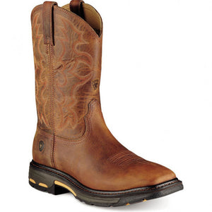 Ariat WorkHog Square Steel Toe Pullon Boot 10007044