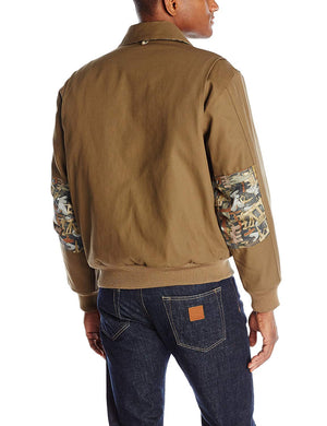 Walls Men's FR Oilfield Camo Bomber Jacket