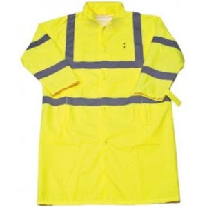 Iron wear 9520FR-Lime Flame Resistant Coat with Tuckaway Hood