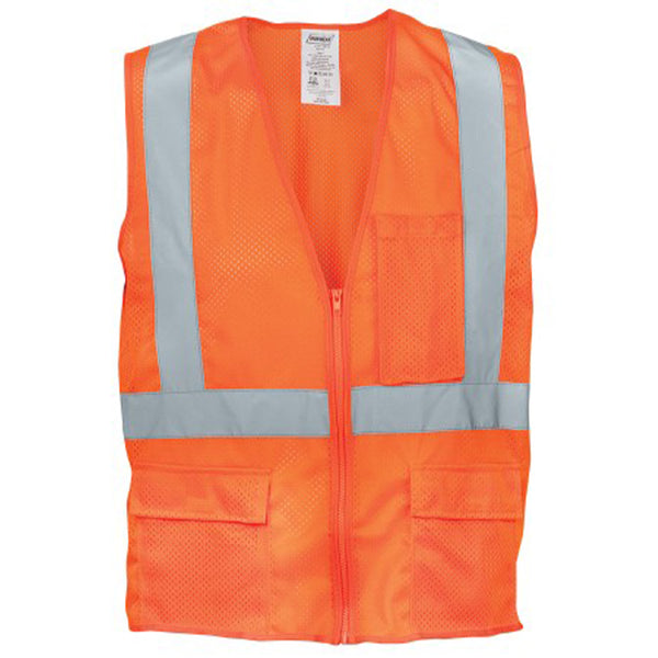 Iron Wear Flame Retardant Orange Mesh Vest