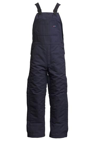 LAPCO BIFRNYDK 12-Ounce Duck Flame Resistant Insulated Bib Overall, Navy
