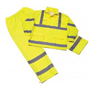 Iron Wear Flame Retardant Class 3 Polyester/Nylon Rain Wear