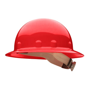 Fibre Metal E1RW Full Brim Hard Hat - Ratchet Suspension full brim