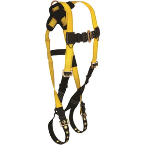 7021  Journeyman Flex® Steel 1D Standard Non-belted Full Body Harness, Tongue Buckle Leg Adjustment