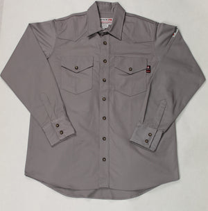 Blue Collar FR Grey Work Shirt