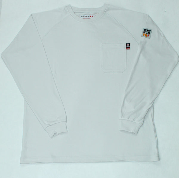 Blue Collar FR T-Shirt - Light  Grey