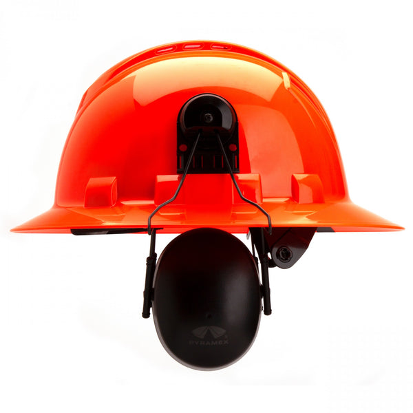 Pyramex Hard Hat Mounted Ear Muffs - 23 NRR