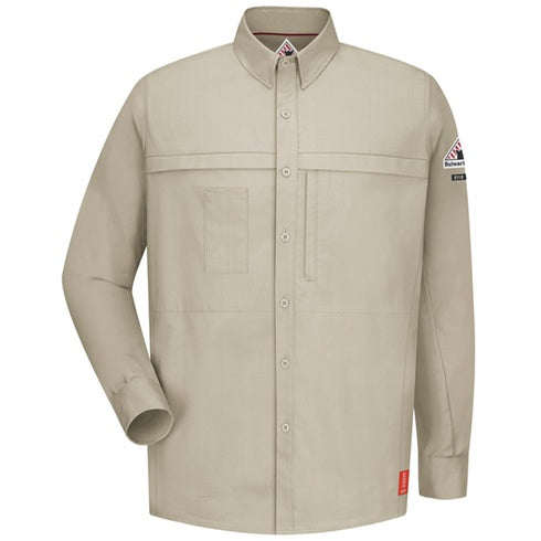 BULWARK IQ SERIES LONG SLEEVE SHIRT CAT 1