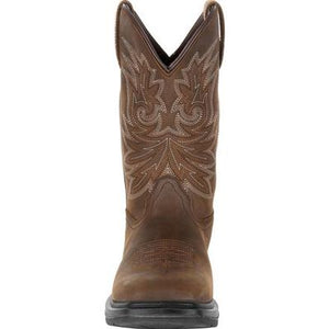 "ROCKY WORKSMART 11"" COMPOSITE TOE WATERPROOF WESTERN BOOT"