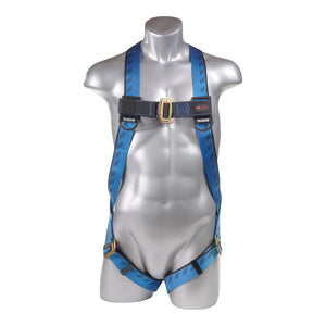 KStrong® Kapture™ Essential 3-Point Full Body Harness, Dorsal D-Ring, MB Legs (ANSI) UFH10101P
