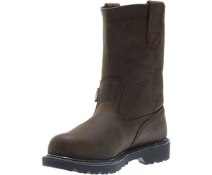 "MEN'S WOLVERINE FLOORHAND WP 10"" WELLINGTON - W10682"