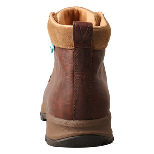 "Twisted X 4"" Work Hiker Boot - Dark Brown WHKWC01"