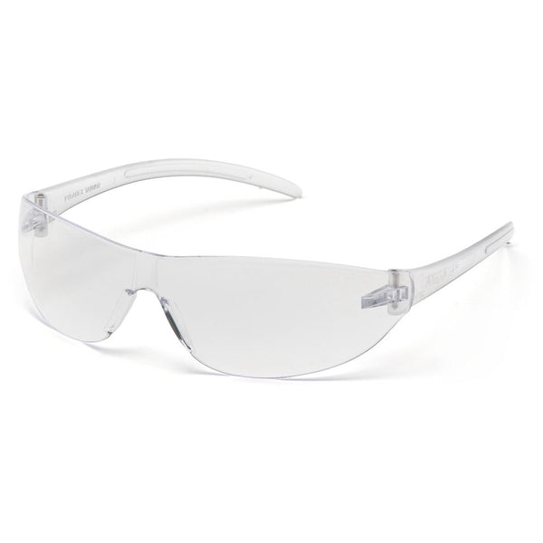 Pyramex ALAIR Clear Lens with Clear Temples per Dozen