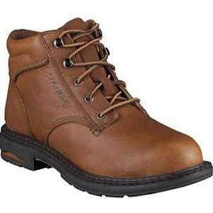 "Ariat Women's Brown Macey Composite Toe 6"" Lace Up Work Boots"